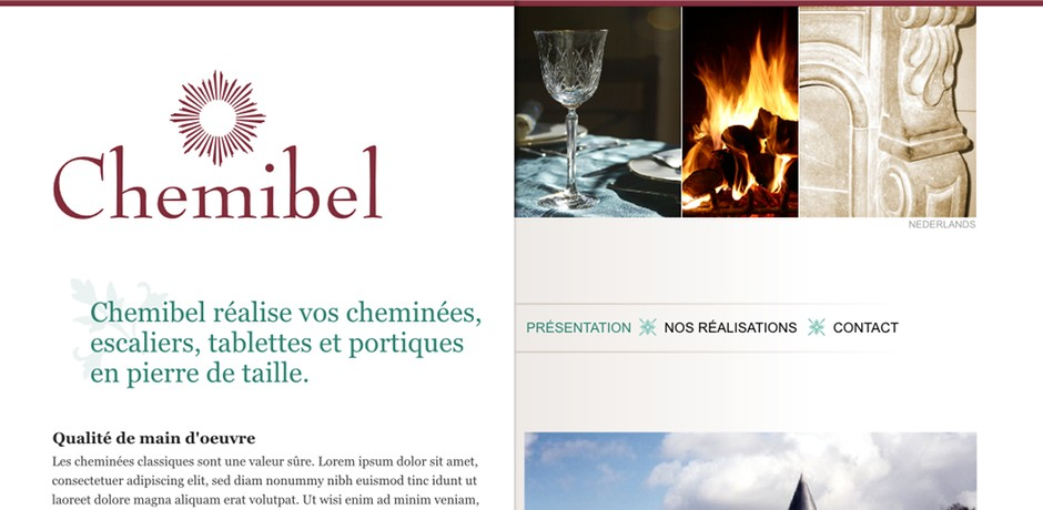Site internet de Chemibel